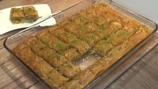 Cevizli Baklava Tarifi+Kolay ve cok lezzetli citir citir enfes - Hatice Mazi