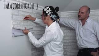 Folyo Duvar Kağıdı ile Pratik  Duvar Kaplama // Yaşasın Dekorasyon