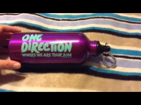 One Direction Where We Are Tour Merchandise + Small Walmart Haul