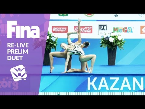 Re-Live - Preliminary Duet - FINA World Junior Synchronised Swimming Championships 2016