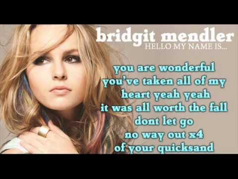 Bridgit Mendler - Quicksand (Full song HD) LYRICS + DOWNLOAD