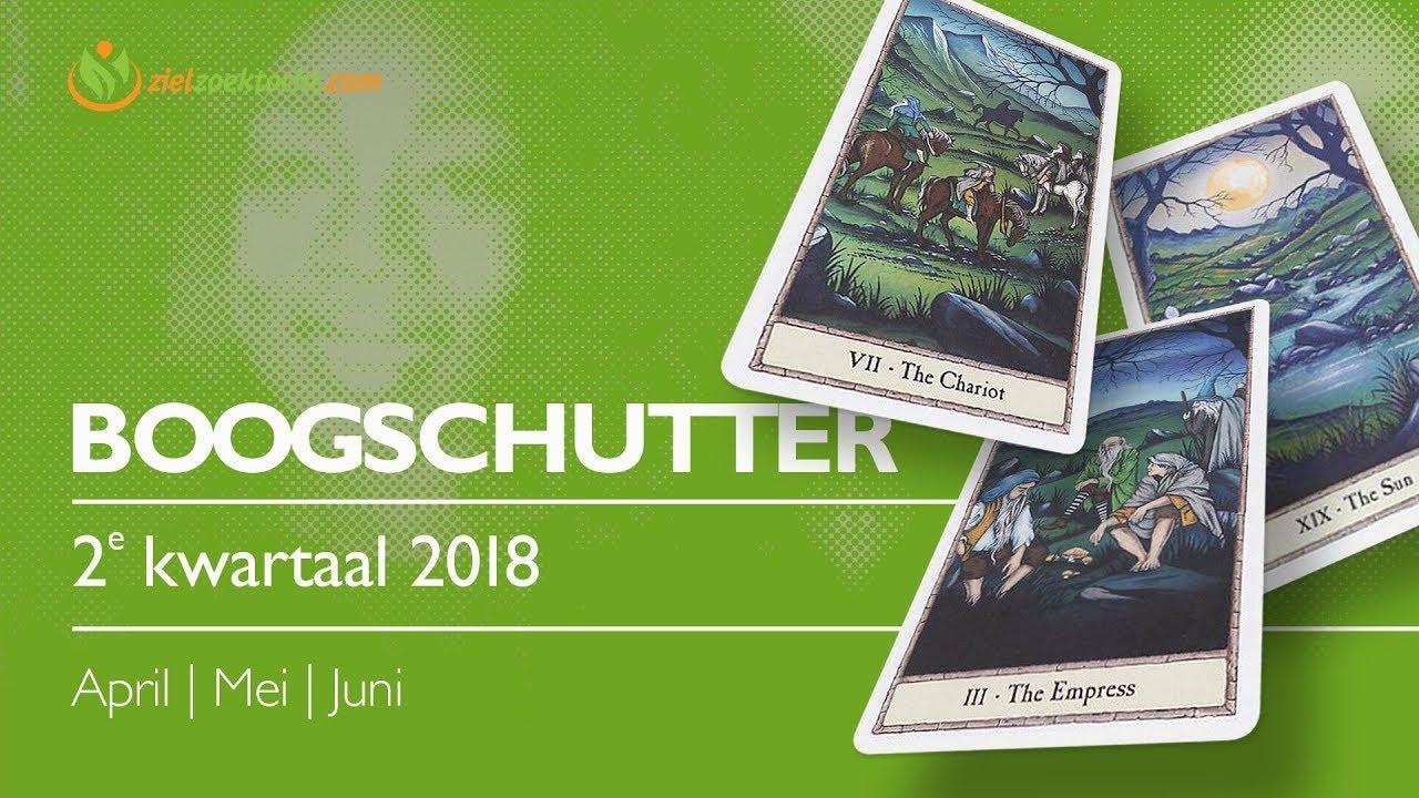 Boogschutter April Mei Juni 2018 Tarot Voorspelling