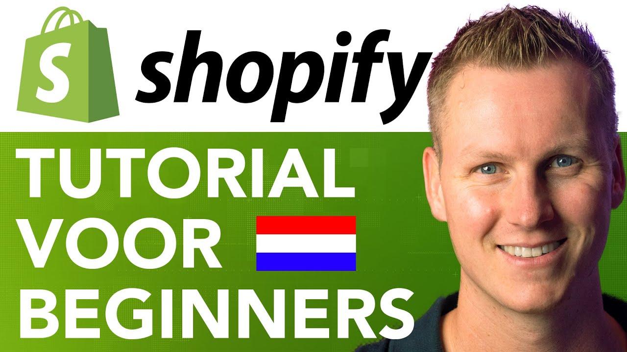 Shopify Tutorial Voor Beginners 2020