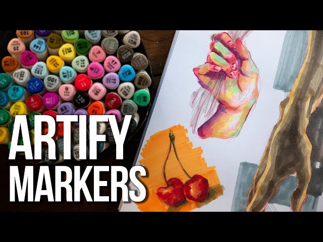 AFFORADBLE ALCOHOL MARKERS?! Artify Marker Review