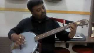 Jana Gana Mana - Indian National Anthem - Instrumental - tenor banjo