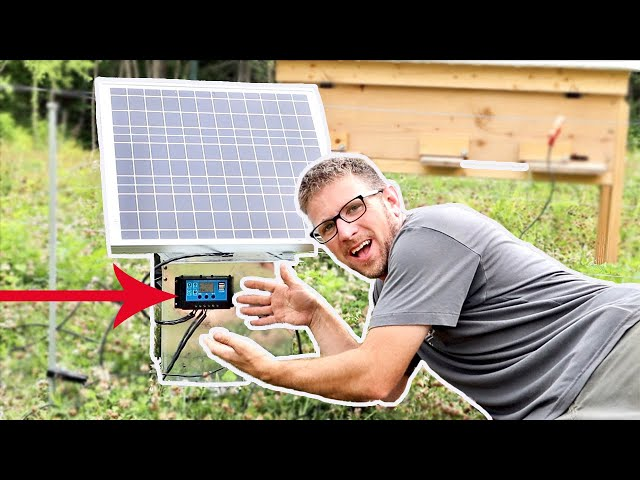 Our First REAL attempt at Solar Power on the HOMESTEAD