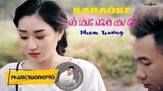 Karaoke Nỗi Lòng Người Con Gái - Phạm Trưởng (Official HD)