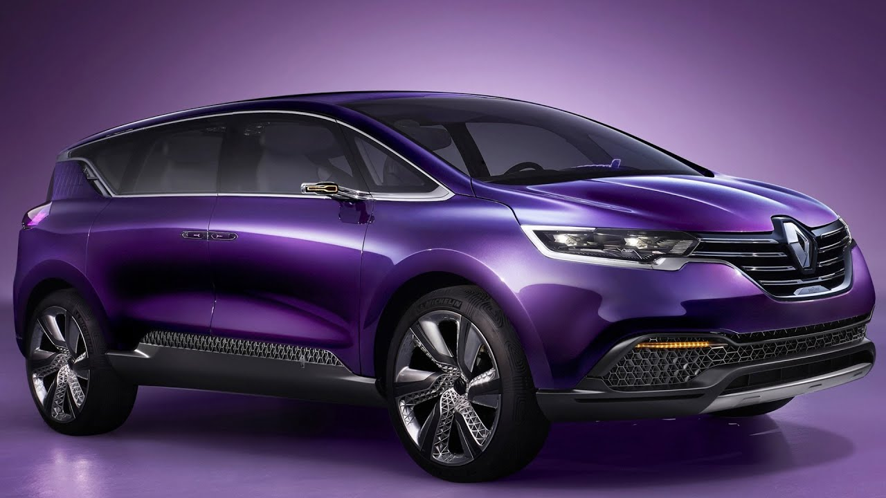 new renault initiale paris concept next renault espace official trailer youtube. Black Bedroom Furniture Sets. Home Design Ideas