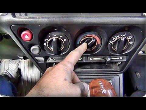 █ Не переключается заслонка печки. Mitsubishi Galant / My Heater