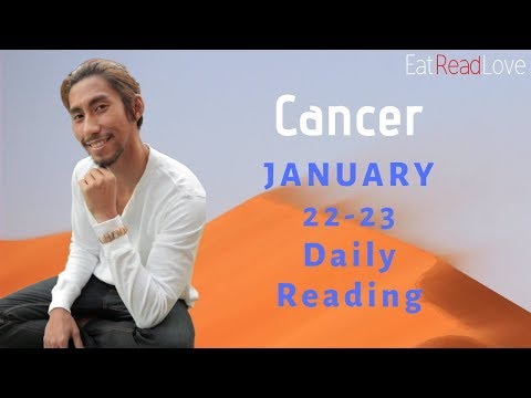 "CANCER DAILY ""DEVIL'S ADVOCATE"" SOULMATE JAN 22-23 TAROT READING"