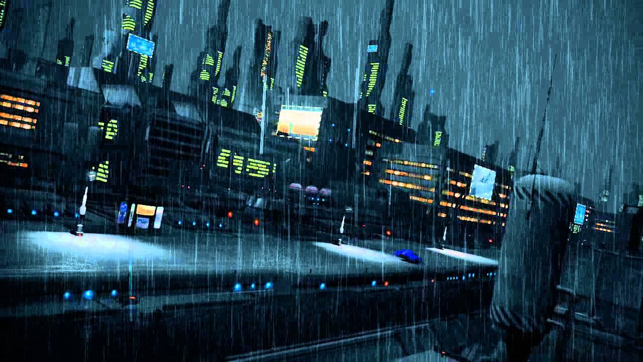 Girl In Sad Mood Wallpaper Sci Fi City Future Dystopia 3d Animation Youtube