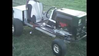 custom lawn mower
