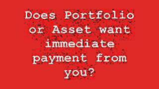 collection agency harassment from portfolio recovery and asset acceptance