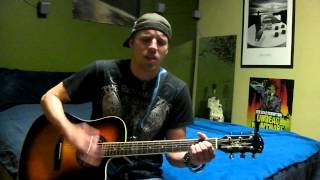 Only God Knows Why- Kid Rock Acoustic Guitar Cover by Drew Evans