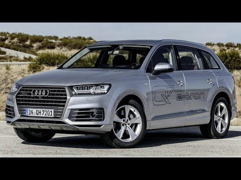 2018 Audi Q7 E Tron New Plug In Hybrid Vehicle Phev 3 0 Tdi Driving And Walkround