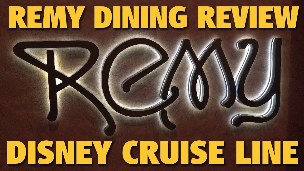 Disney Cruise Line Dining and Restaurants