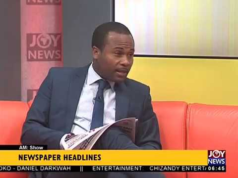 AM Show Newspaper Headlines on JoyNews (11-4-18)