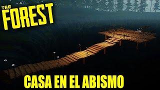 LANZANDO CANÍBALES AL ABISMO - THE FOREST #118 | Gameplay Español