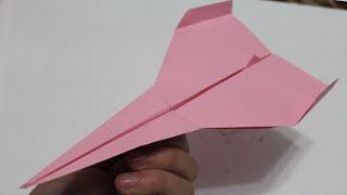 Como hacer un avion de papel que vuela mucho facil