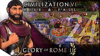 BAD T B RA BAD  Civilization V  Rise and Fall — Glory of Rome    24  Terra Emperor