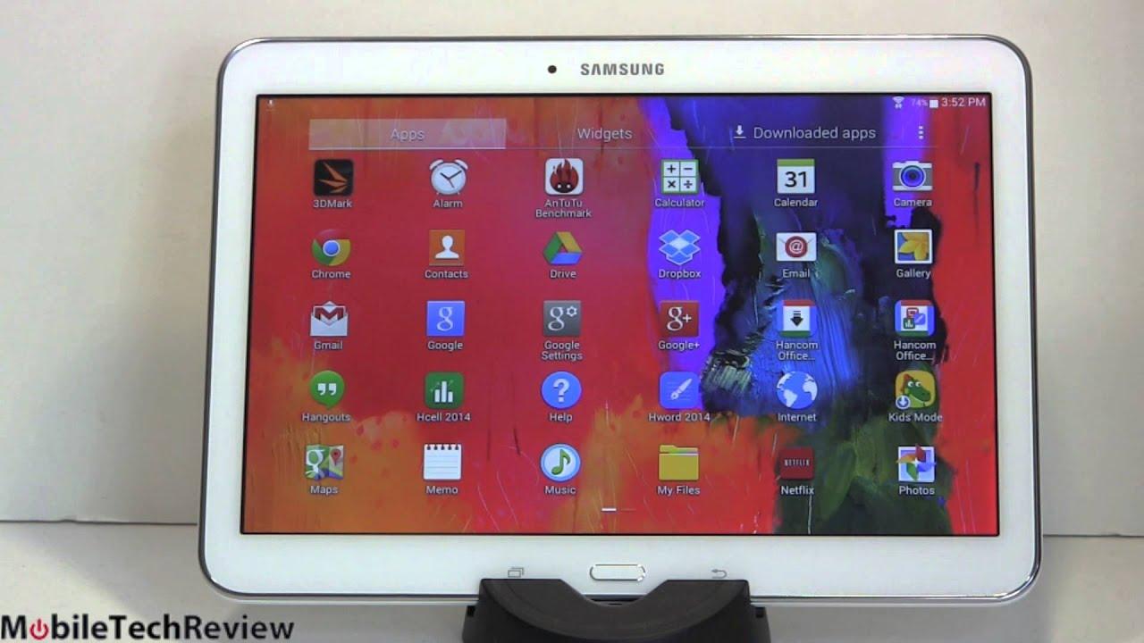 Samsung Galaxy Tab 4 10.1 Review - YouTube