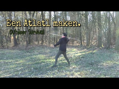 Bushcraft : How To make A Atlatl  | Outdoor Survival
