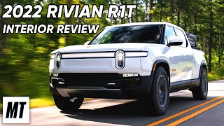 homepage tile video photo for 2022 Rivian R1T Interior REVIEW | MotorTrend