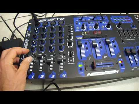 Vocopro KJ-7808RV-N Karaoke / DJ / KJ Mixer KJ-7808 RV