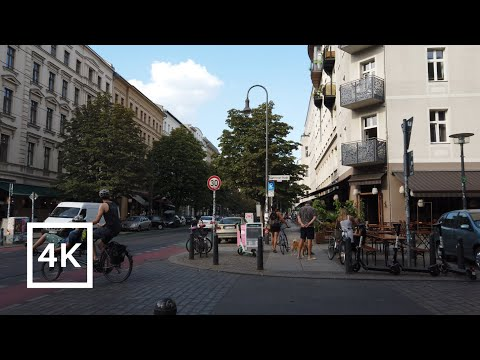 【4K】Walking Tour Prenzlauer Berg, Pankow, Berlin (Germany)