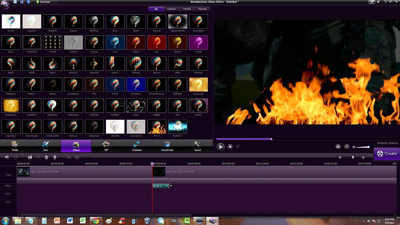 How To Add Special Effects In Wondershare Video Editor ...