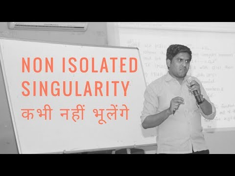 CSIR NET/GATE Mathematics Question|| Non Isolated Singularity 1|| complex Analysis