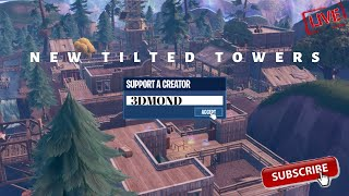 NOUVEAU !!! TILTED TOWERS FORTNITE SHQIP (USE CODE : 3DMOND) 🔴 LIVE 🔴