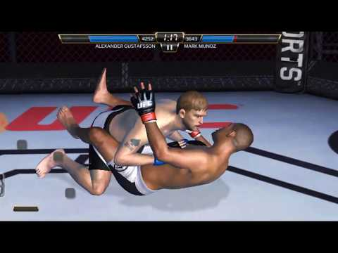 UFC mobile Stage 102 Heavyweight career mode  Alexander Gustafsson