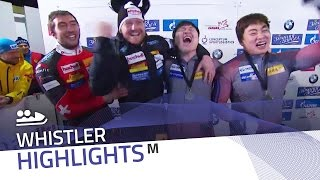 Peter and Won shared the closest ever race | IBSF Official