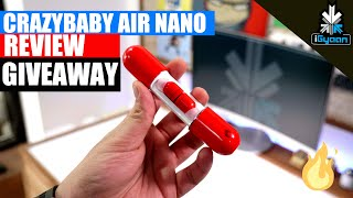 Air Nano By CrazyBaby Review And Giveaway : Truly Wireless Earphones