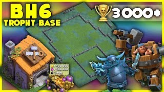 UNBEATABLE Builder Hall 6 [BH6] 3000+ Trophy Base | With Replays | Anti Air - Clash of Clans