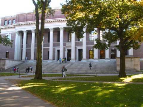 Harvard Yard and Cambridge Massachusetts