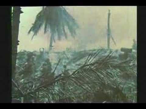 WW II : RARE COLOR FILM : TARAWA : 76 HOURS OF HELL