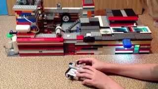 Lego дом с механизмами 2