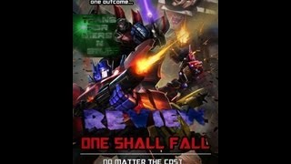 Transformers legends - one shall stand one shall fall review