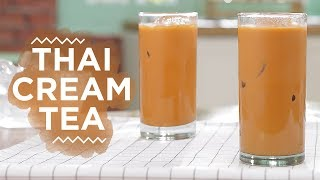 Resep Thai Cream Tea | YUDA BUSTARA