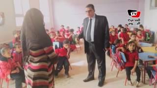 وكيل «تعليم بني سويف» يتفقد مدارس المحافظة ويحيل مُدرستين للتحقيق