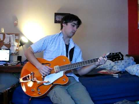 very short demo of a gretsch g5120 electromatic youtube. Black Bedroom Furniture Sets. Home Design Ideas