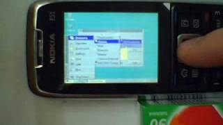 Windows 3.1 running on Nokia E51 symbian S60 3rd Edition FP1