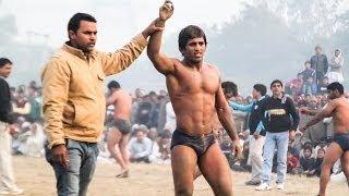 World Championship- medalist Bajrang  pahalwan  - बजरंग पहलवान की भव्य कुश्ती