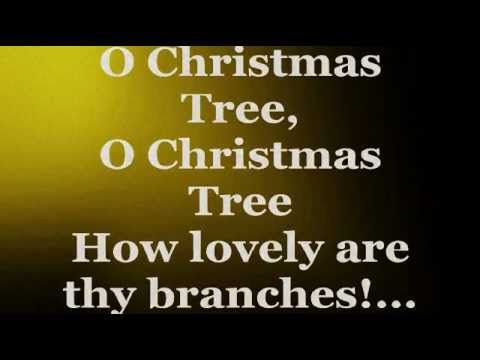 O Christmas Tree (Lyrics) - ARETHA FRANKLIN - YouTube