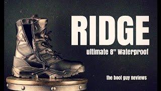 RIDGE #9000 Ultimate [ The Boot Guy Reviews ]