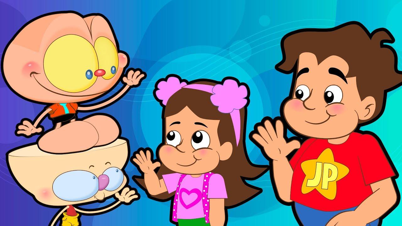 Download Mongo e Drongo em Maria Clara e JP ou Maria CARLA e JB? Desenho animado com o Caçador.
