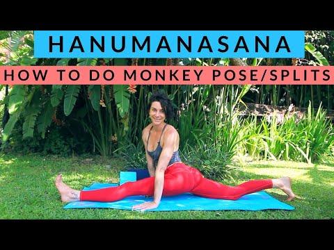 Hanumanasana Split Poses with Cole Chance