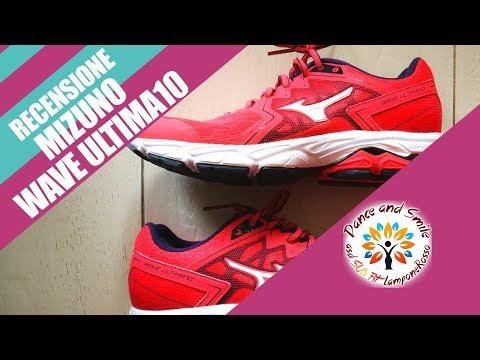 hot sale online 419d0 9ccf5 Scarpe Mizuno Wave Ultima 10 Recensione - YouTube